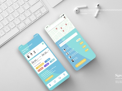项目流程管理软件APP界面UI设计 sgr-design.com brand ui app ui设计