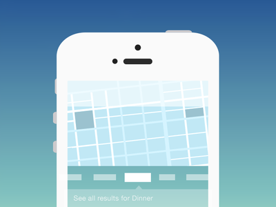 Onboarding Explorations ios device app iphone ui ux blue green onboarding exploration foursquare 4sq