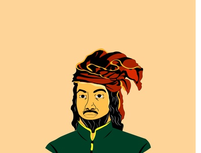 Sultan Ageng Tirtayasa indonesian hero image vector designs adobe illustrator adobe