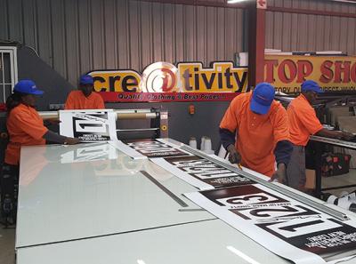 Powermax Factory signs signage
