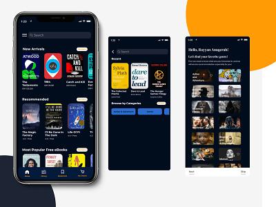 Your Book App figmadesign figma ui app design