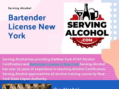 Bartender License New York liquor bartender usa bartenders alcohol