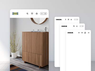 Frames and containers menu home furnishing ui wechat