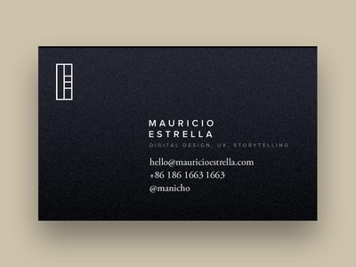 Hello refrigerator logo. monolith logo card business