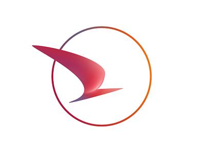Birdie logo brand airline bird