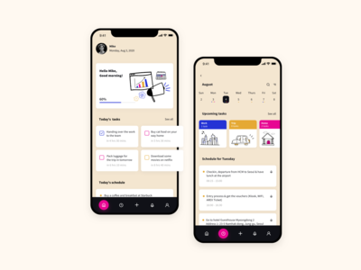 To-Do List App minimal ui ux practice inspiration design challenge app
