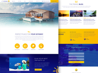 Travel Portal Homepage