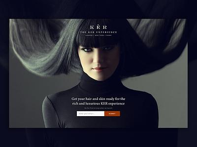 Coming Soon Final Version fashion widget design coming soon website branding black ux ui