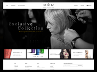 KER Final Homepage & Shop