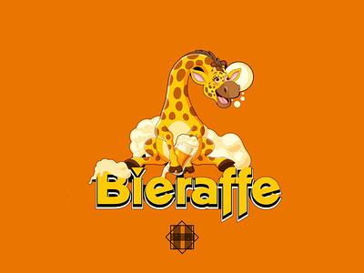 Bieraffe graphic design branding illustration vector