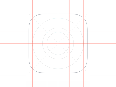 iOS App Icon template for Sketch by angelday - Dribbble