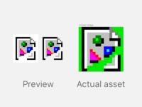 Oldschool Netscape broken image asset in Sketch