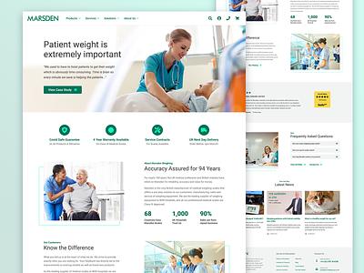 Medical Ecommerce ux web medical care medical design ui website ecommerce