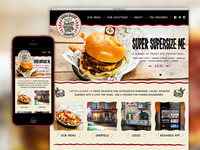 Burger joint site concept