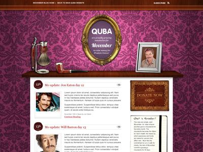 Movember Blog 2010 website blog wordpress movember wood wallpaper pattern shelf mo moustache