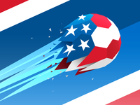 """""""Lets Go USA!"""" for client: Wilson"""