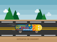 Octopus in Desert