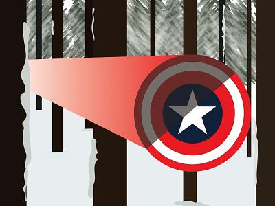 Captaion America shield illustrator fanart comic marvel captain america wallpaper illustration graphicdesign design background