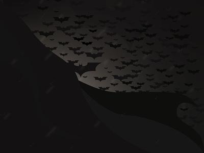 I Am the Night illustrator fanart dc comics batman art color wallpaper illustration graphicdesign design background