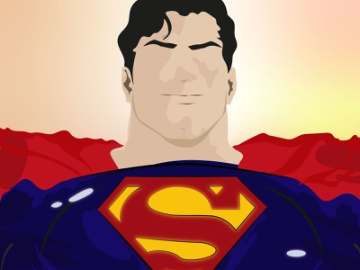 It's not an '' S '' on my world it means '' HOPE ''. illustrator fanart art drawing character superhero superman dc comics wallpaper illustration graphicdesign design background