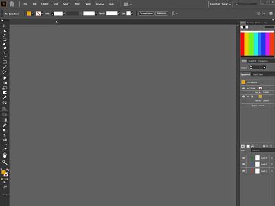 Adobe AI program interface draft vector art illustrator wallpaper illustration graphicdesign design background