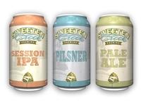 Sweeten Creek Brewing Can Designs