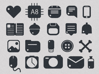 Rounded Icons Free icons free