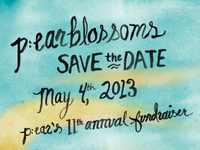 p:earblossoms save the date!