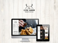 The clydebarow homepage