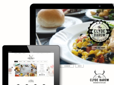 The Clyde Barow restaurant template version2