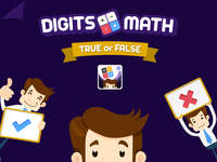 Digits Math small game
