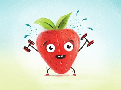 Workout Strawberry