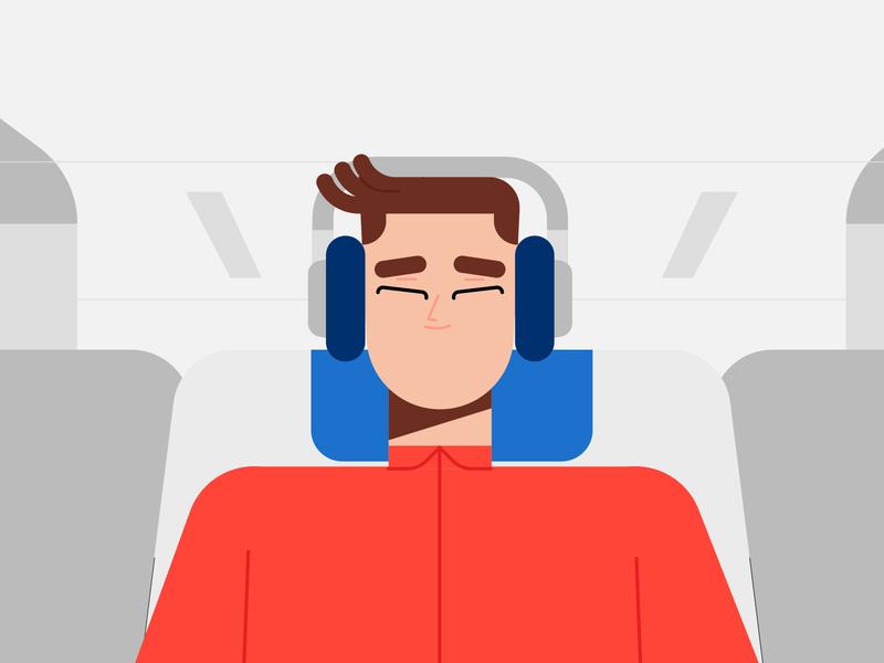 Air Shopping-Illustration 03 vector adobe minimal dribbble animation illustrator characters design illustration character