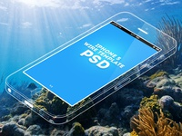 iPhone 5 Wire Template iphone 5 template psd freebie minimal grid wire transparent download see through iphone underwater