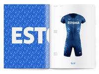 Estonia Olympic Uniform