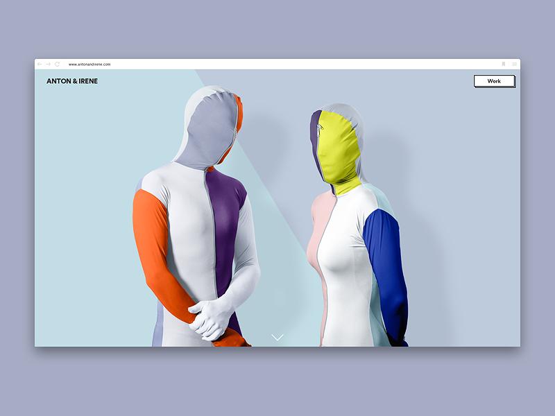 Anton & Irene Site new york portfolio brooklyn studio design irene anton