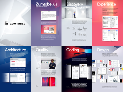 Zumtobel Case Study readymag ux behind the scenes case study design