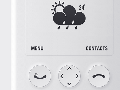 Phone Eclipse phone ui product buttons