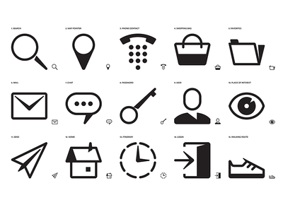 Adobe Icons Set vector shapes xd simple adobe iconography icon