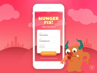 Hunger Fix Signup