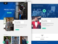 Fashion Landing Page Concept