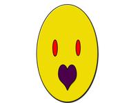 Purple love design branding