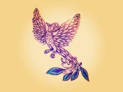 Phoenix photoshop tattoo phoenix drawing art color design photography