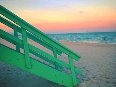 Miami Livin' photoshop color portrait photo sky water photography instagram sunset beach miami winter