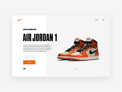 Nike SNKRS Desktop Product Screen