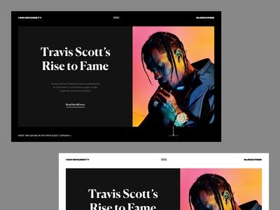 Travis Scott's Rise to Fame
