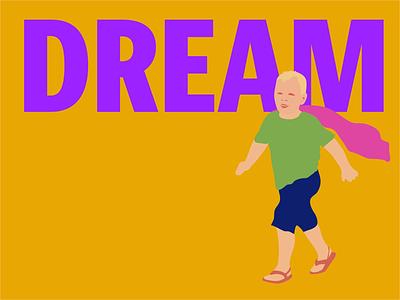"Superkid Series ""Dream"" doodle illustration color trends illustrator drawing"