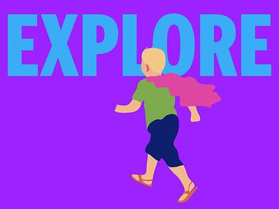 Superboy Series Explore drawing illustrator color trends illustration doodle