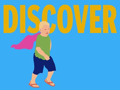 Superkid Series Discover drawing adobe illustrator design illustrator illustration doodle