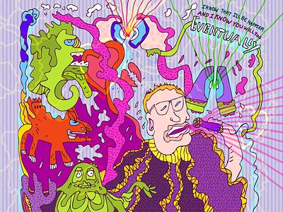 Eventually st paul band art illustrator illustration sketch doodle music